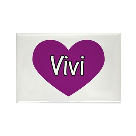 Vivi Rectangle Magnet (10 pack)