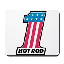 Number One Hot Rod Mousepad