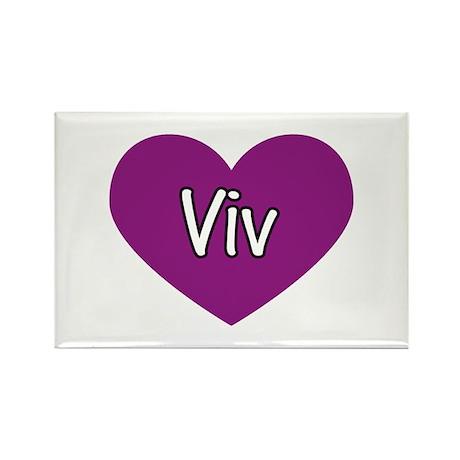Viv Rectangle Magnet (10 pack)