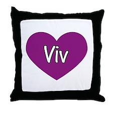 Viv Throw Pillow