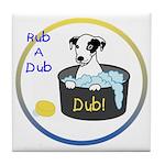 Rub A Dub Dub Tile Coaster