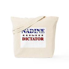 NADINE for dictator Tote Bag