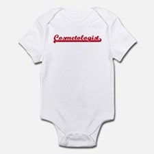Cosmetologist (sporty red) Infant Bodysuit