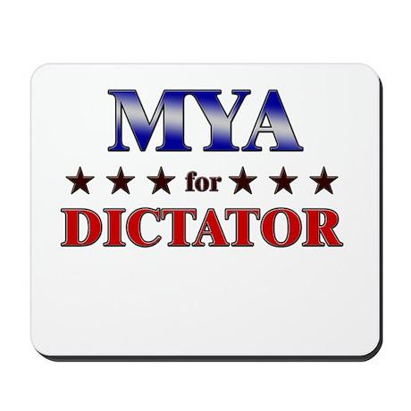 MYA for dictator Mousepad