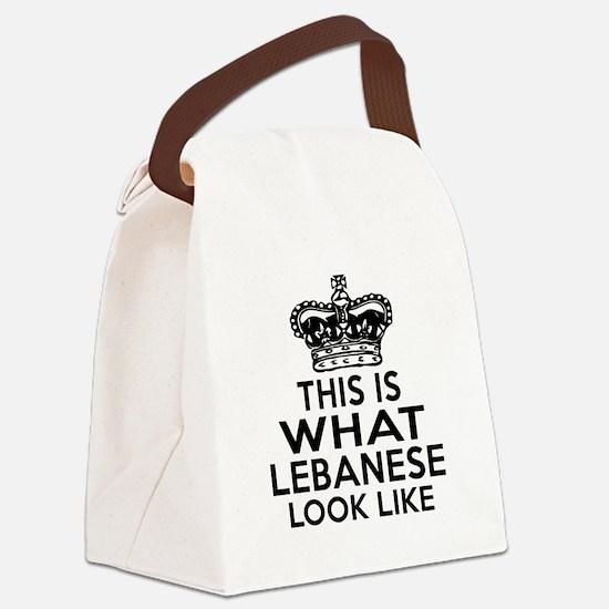 Afghan Look Like Lebanese Canvas Lunch Bag