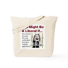"Liberal ""Botany Experiments"" Tote Bag"