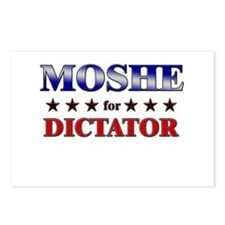 MOSHE for dictator Postcards (Package of 8)