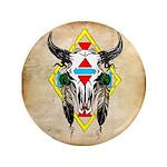 Tribal Cow Skull 3.5