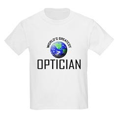 World's Greatest OPTICIAN T-Shirt