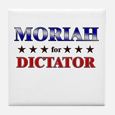 MORIAH for dictator Tile Coaster