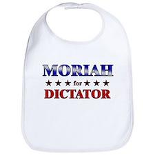 MORIAH for dictator Bib