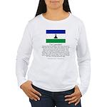 Lesotho Women's Long Sleeve T-Shirt