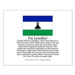 Lesotho Small Poster