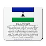 Lesotho Mousepad