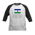 Lesotho Kids Baseball Jersey