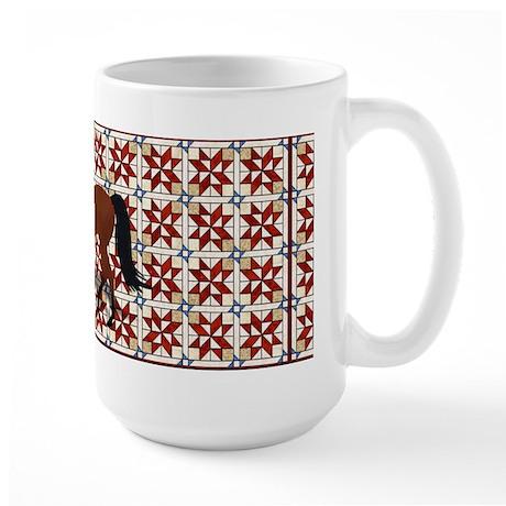Foxtrotter Country Large Mug