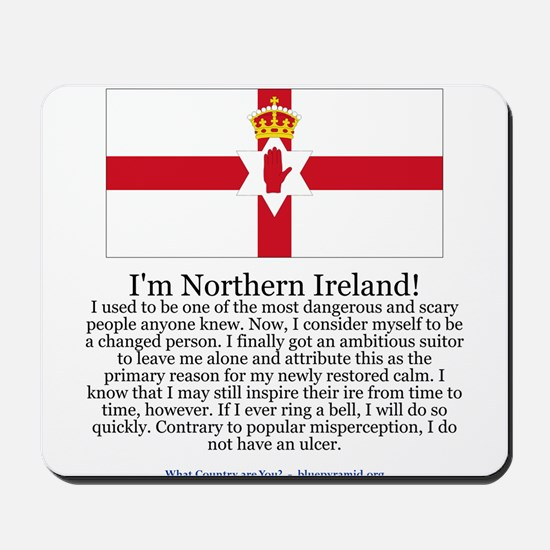 Northern Ireland Mousepad