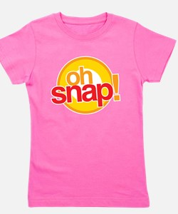 Funny Oh snap Girl's Tee