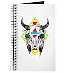 Tribal Cow Skull Journal