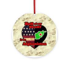 Afghanistan Keepsake (Round)