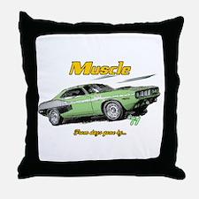 '71 Cuda Throw Pillow