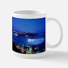 Niagara Falls At Night Mugs