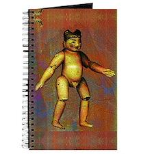 Red Burmese Boy Doll Journal