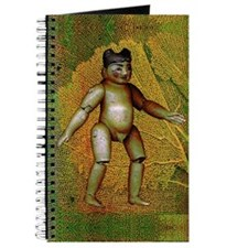 Green Burmese Boy Doll Journal