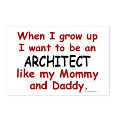 Architect (Like Mommy & Daddy) Postcards (Package