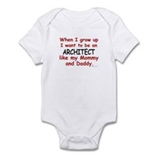 Architect (Like Mommy & Daddy) Onesie