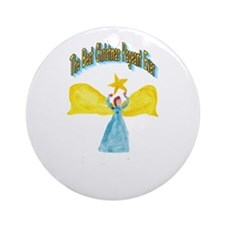 Best Christmas Pageant Ornament (Round)