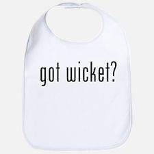 got wicket? Bib