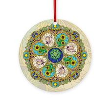 Summer Nouveau Ornament (Round)