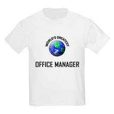 World's Greatest OFFICE MANAGER T-Shirt