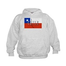 Chile Flag Extra Hoodie