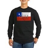 Chile Long Sleeve T-shirts (Dark)