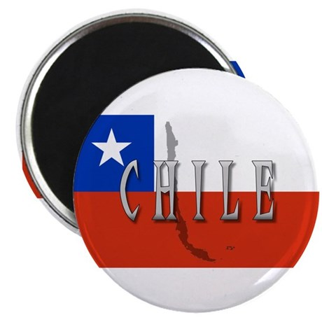 Chile Flag Extra Magnet
