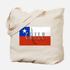 Chile Flag Extra Tote Bag