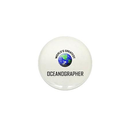 World's Greatest OCEANOGRAPHER Mini Button (10 pac
