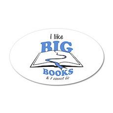 I like Big Books Wall Decal