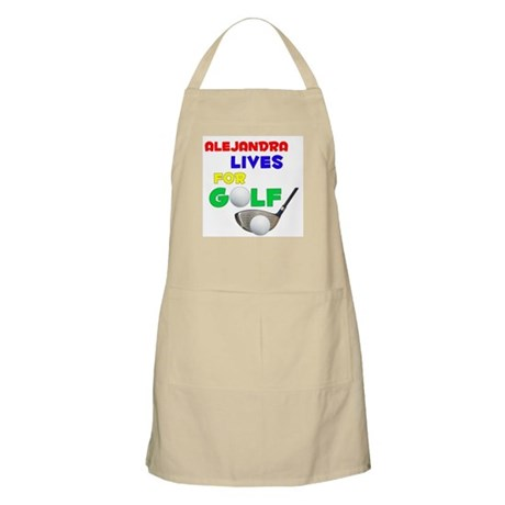 Alejandra Lives for Golf - BBQ Apron