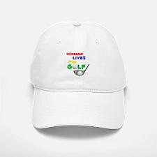 Mckenna Lives for Golf - Baseball Baseball Cap