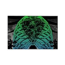 Cool Plain heart Rectangle Magnet