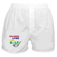 Guillermo Lives for Golf - Boxer Shorts