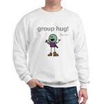 Thog: group hug! Sweatshirt