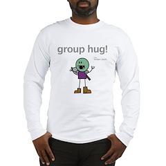 Thog: group hug! Long Sleeve T-Shirt