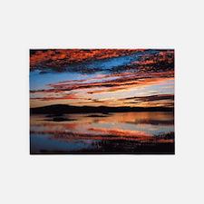 Sunset Painted BM 5'x7'Area Rug