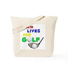 Noelia Lives for Golf - Tote Bag