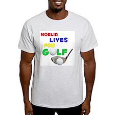 Noelia Lives for Golf - T-Shirt