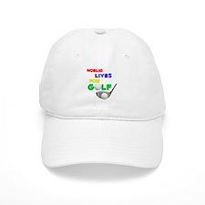 Noelia Lives for Golf - Baseball Cap